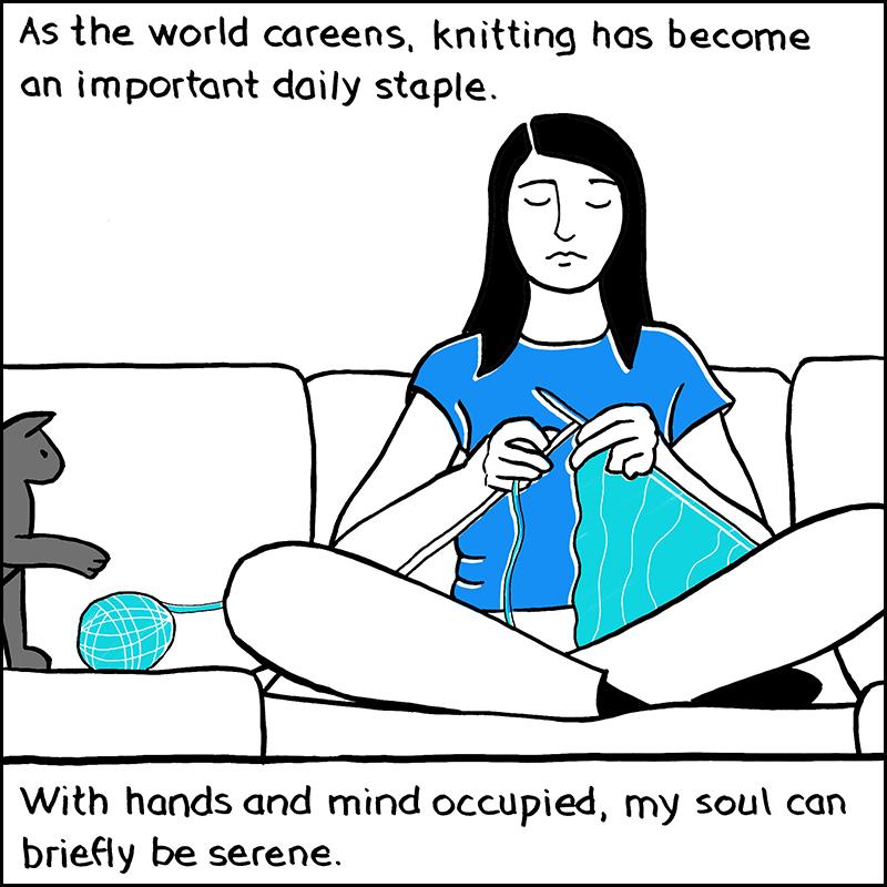 Knitting_Lily